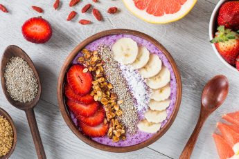 Peanut Butter Smoothie Bowl From Ezra Cohen, McGill Grad Student