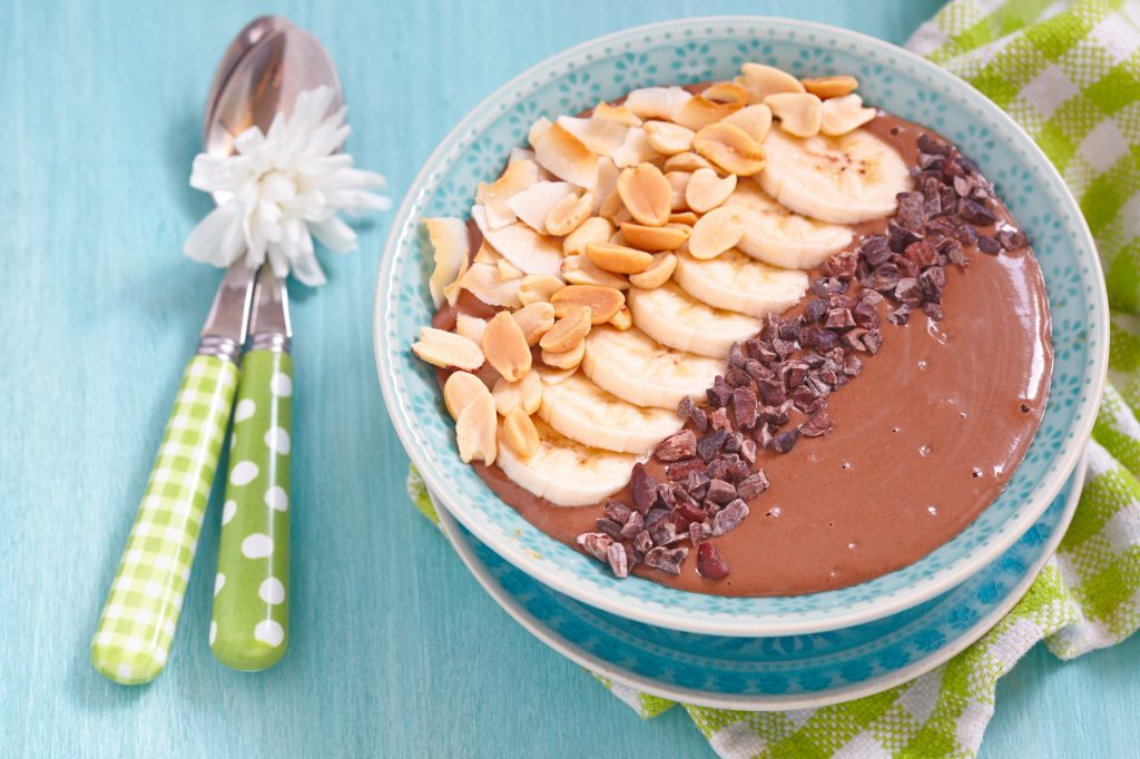 Ezra Cohen Montreal Peanut Butter Smoothie Bowl Recipe