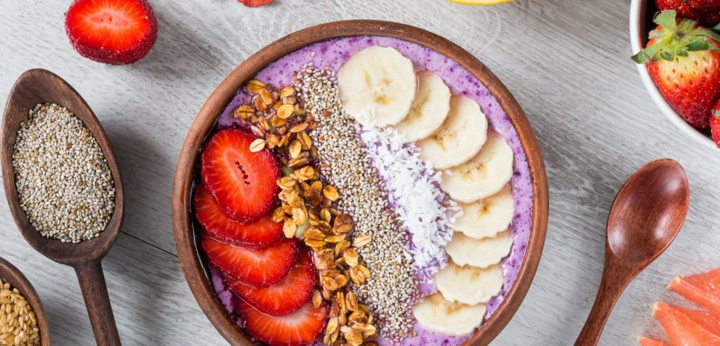 Peanut Butter Smoothie Bowl From Ezra Cohen, McGill Graduate