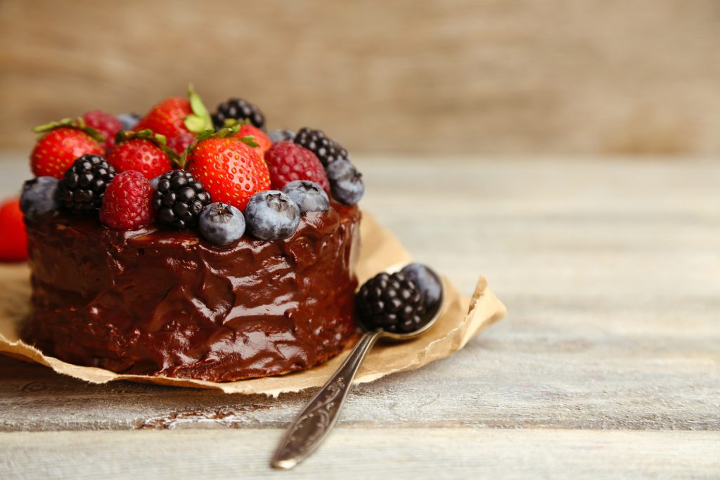 Dark Chocolate Almond Butter Cake
