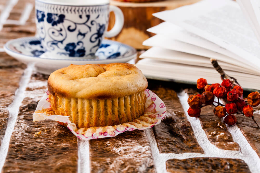 Muffins au beurre de noix d'Ezra Cohen Montréal
